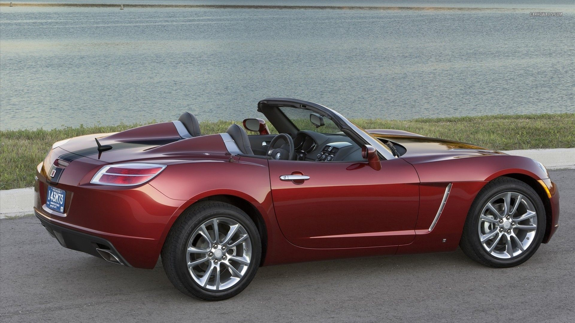 Saturn Sky Red Line Ruby Red Limited Edition 2009 Wallpaper Saturn Sky Saturn Car Pontiac Solstice