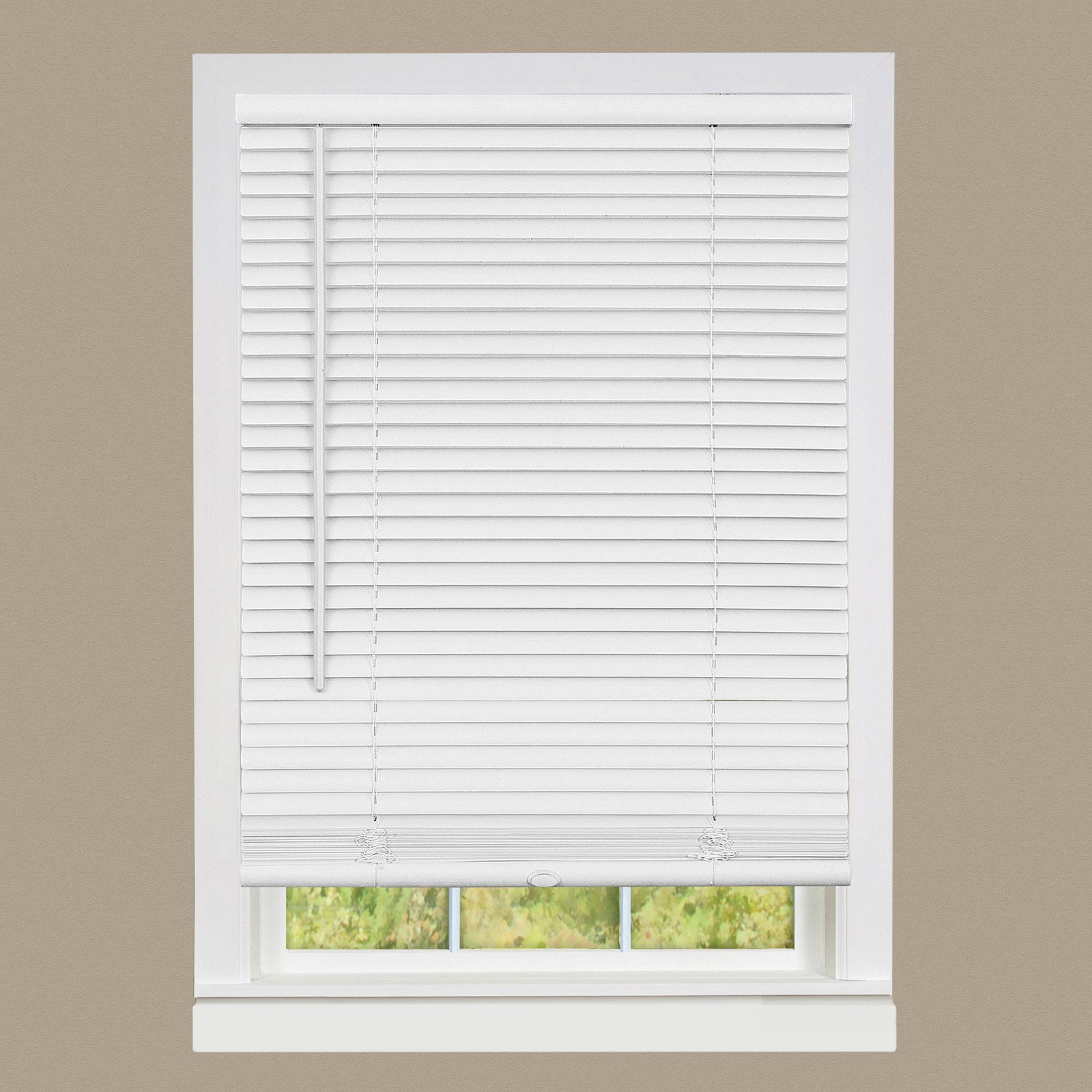 Achim Cordless Gii Deluxe Sundown 1 In Room Darkening Mini Blind Mini Blinds Vinyl Blinds Venetian Blinds