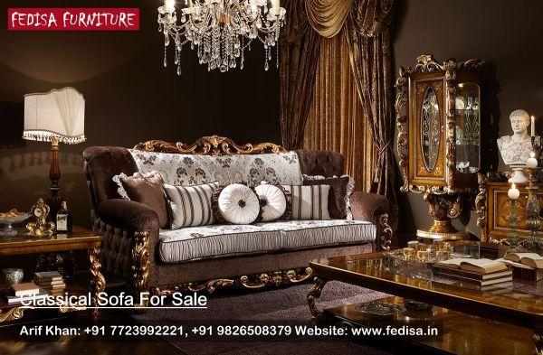 Traditional Sofa Set Classic Sofa Set Traditional Sofa Fedisa