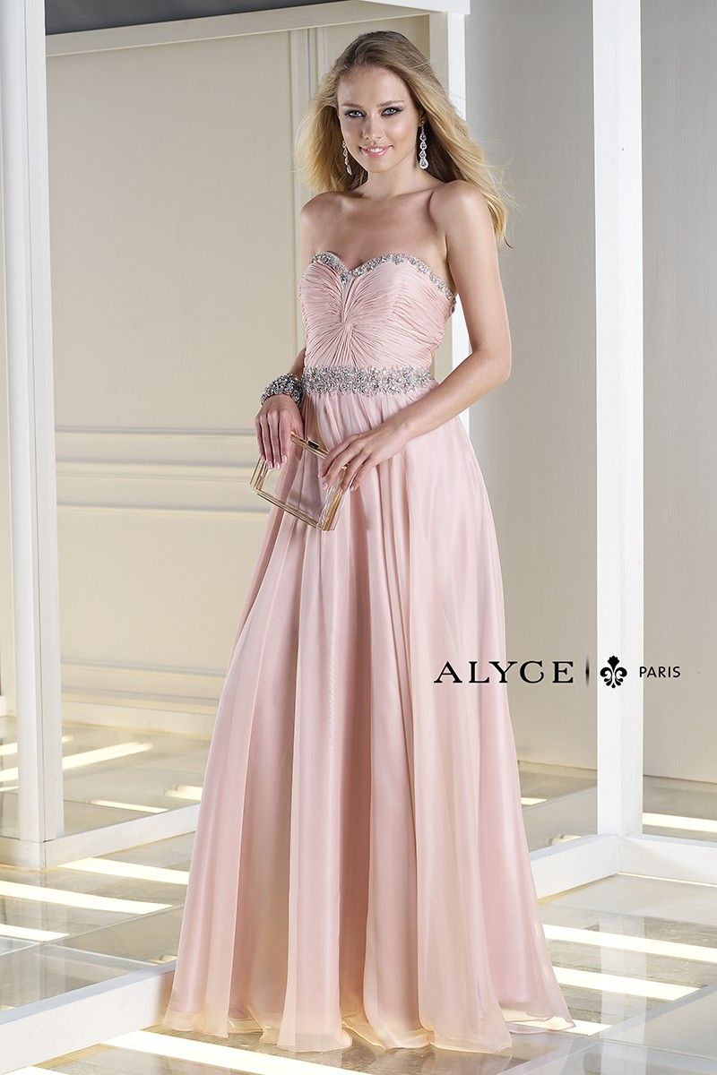 Budazzle prom dress style front view alyce paris