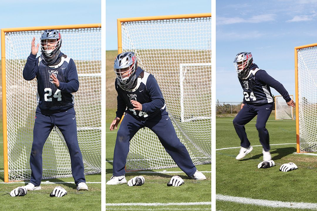 How To Play Like Galloway Lacrosse, Goalie, Play