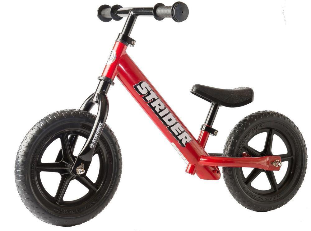 Strider 12 Sport Balance Bike Red