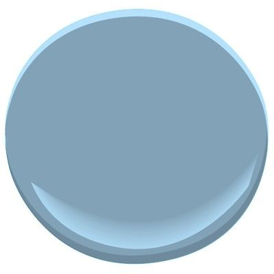 Benjamin Moore Colonial Blue 1677 Paint Colors Grey Paint Wall Color