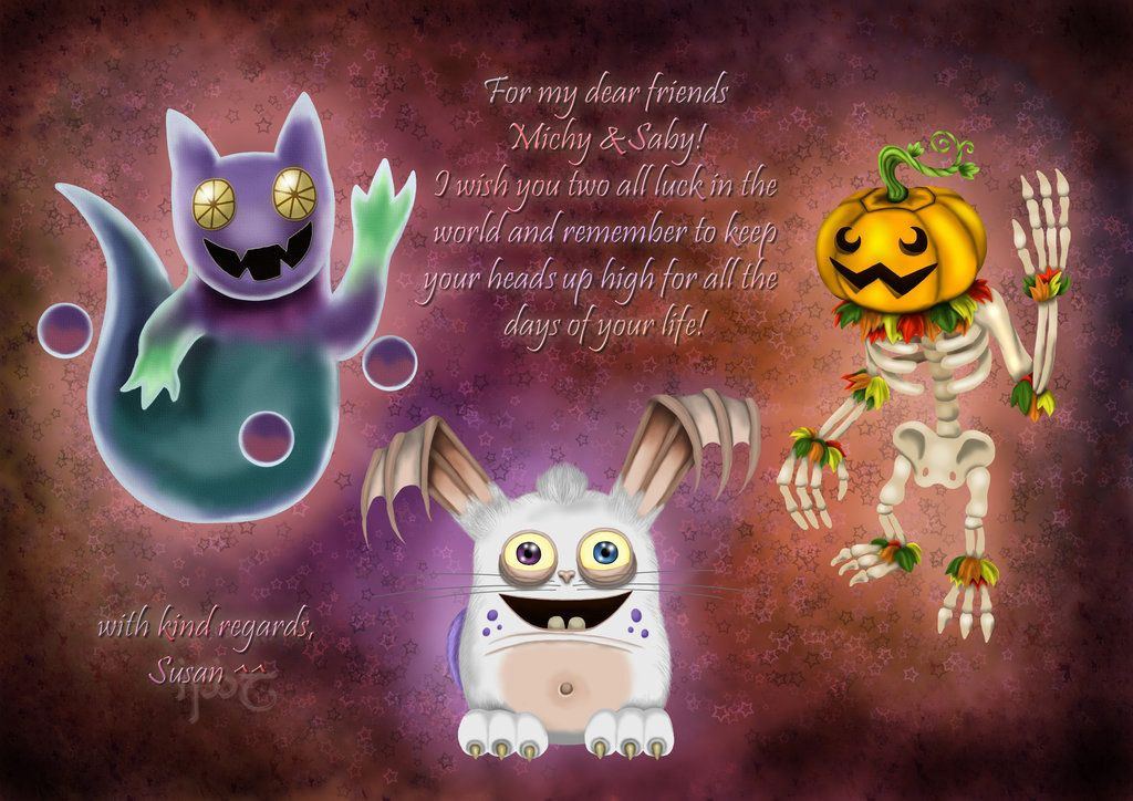 My Singing Monsters By Indiliel On Deviantart Singing Monsters My Singing Monsters My Singing