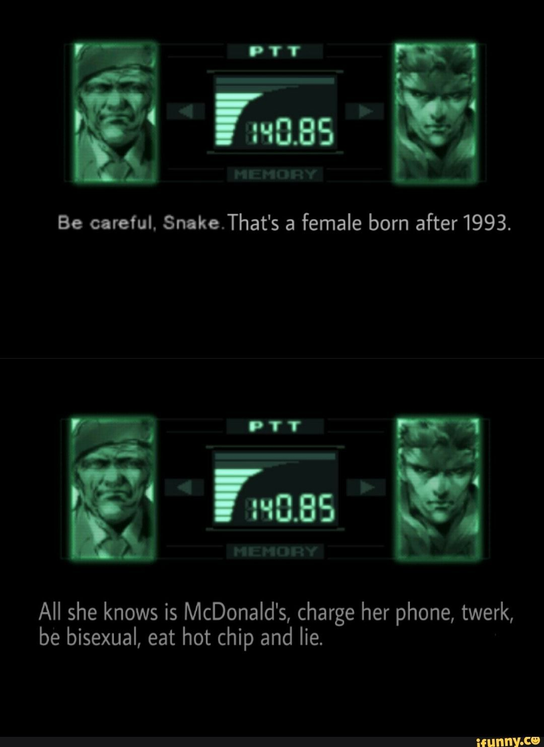 Pin on Funny Metal Gear Solid memes