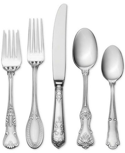Wallace Luxe 20Piece Flatware Set, Service for 4
