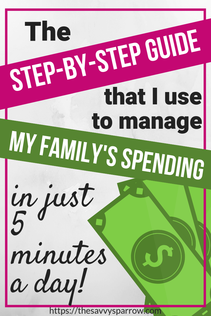 keep track of spending using a weekly planner a detailed guide