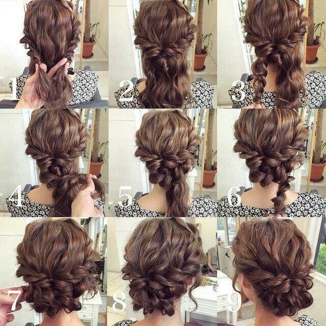 Easy Homecoming Hairstyles Hair Styles Medium Length Hair Styles Hair Tutorial