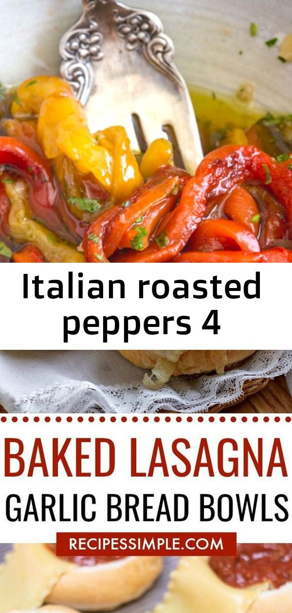 Italian roasted peppers 4 Italian Grilled Pepper Appetizer the perfect Roasted Pepper Recipe tossed with fresh parsley and olive oil so easy and delicious make this your...