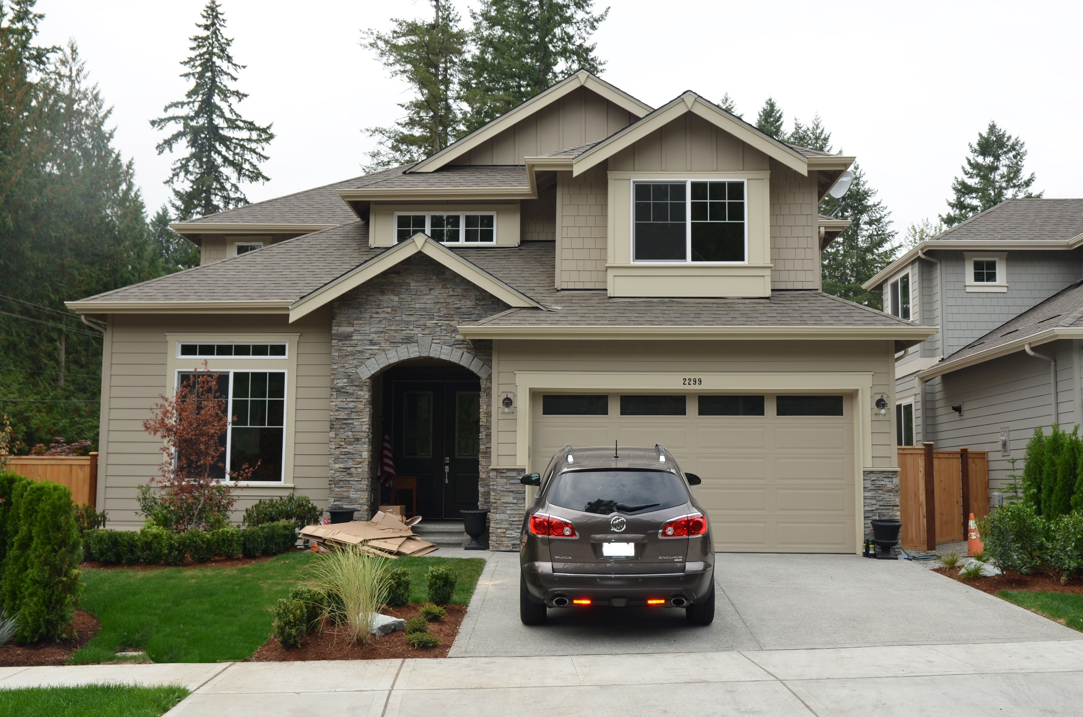 pl01 rosario a exterior home color tony taupe by sherwin williams stone entryway prostack