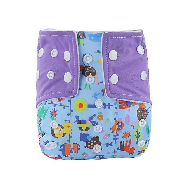 Reusable Baby Infant Nappy Cloth Diaper Waterproof Breathable Leakproof Diaper