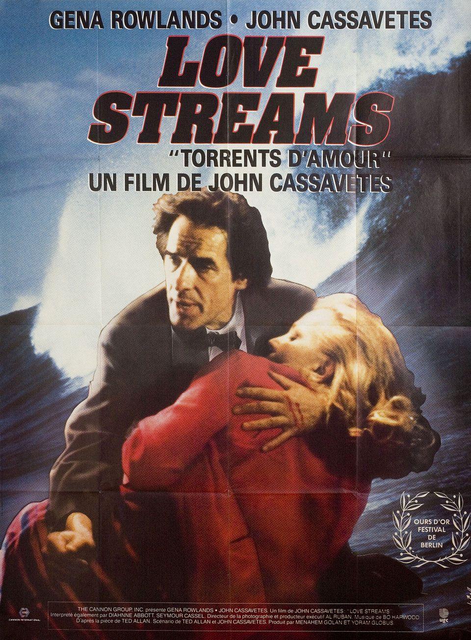 Love Streams 1984 French Grande Poster Posteritati Movie Poster Gallery New York Poster Movie Posters Movies