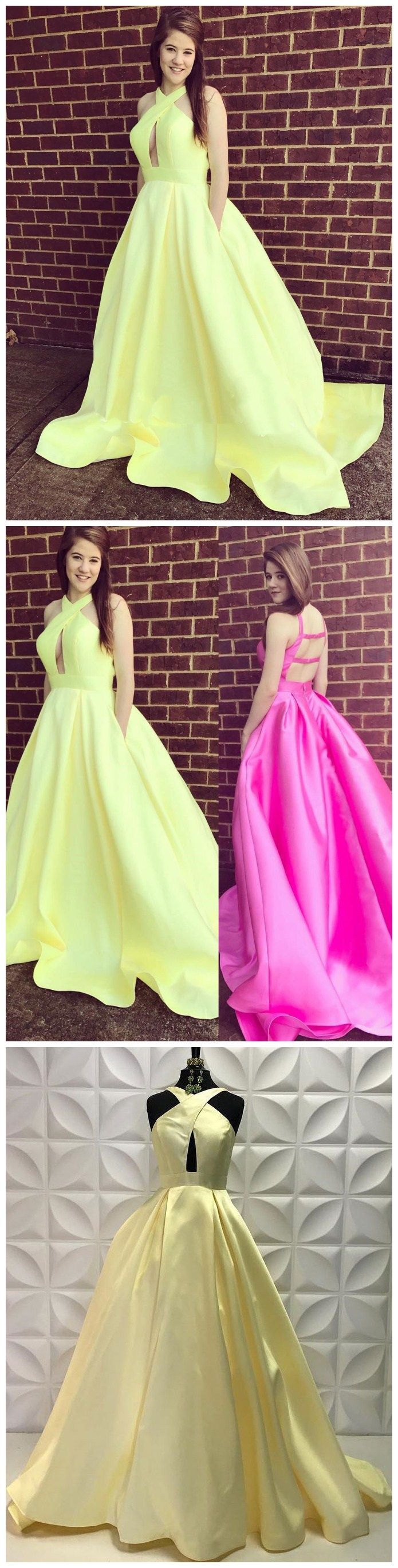 Excellent sequin lace halter neckline chapel train sheath prom dress