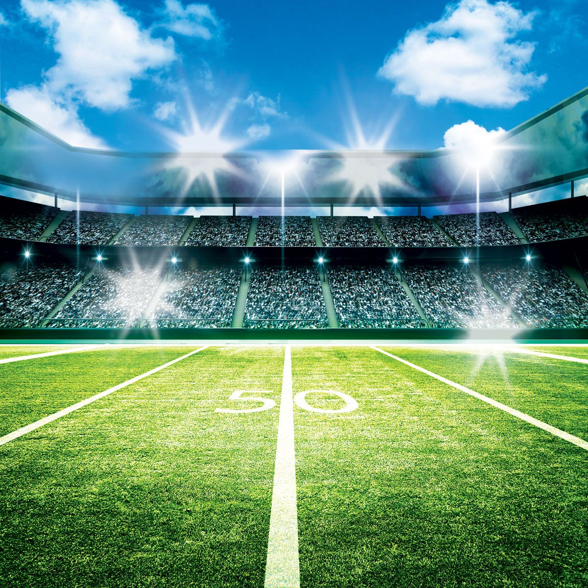 Background - 50 Yard Line | Background,  50 yards, Yard