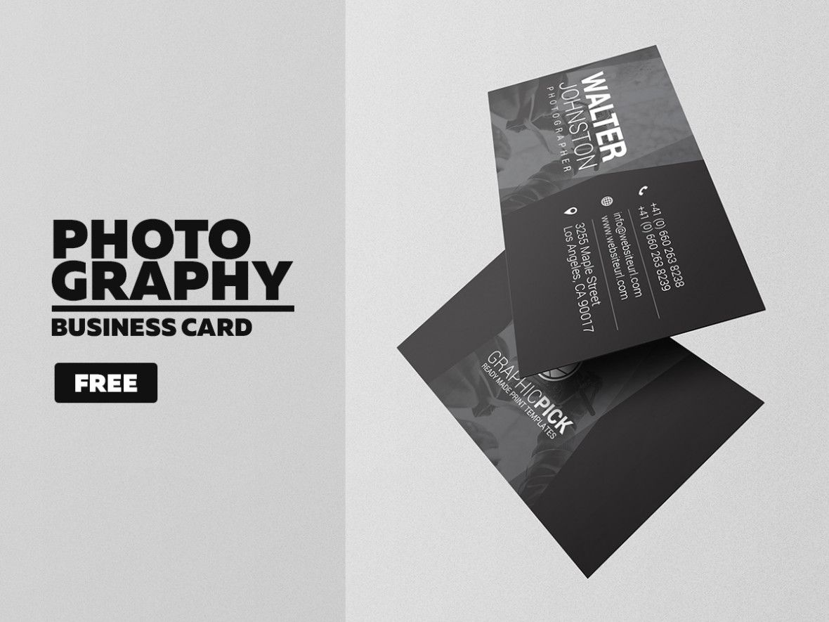 Photography business card 11 pinterest photography business photography business card is a modern and professional print template for individual photographer or photography business files are fully editable all el friedricerecipe Image collections
