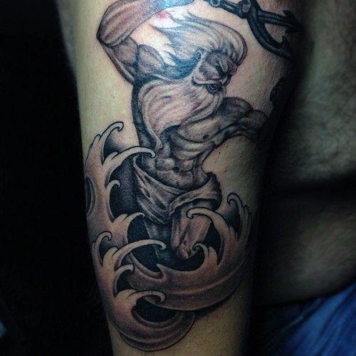 arm poseidon greek god tattoo ideas for guys tattoos pinterest greek god tattoo god. Black Bedroom Furniture Sets. Home Design Ideas