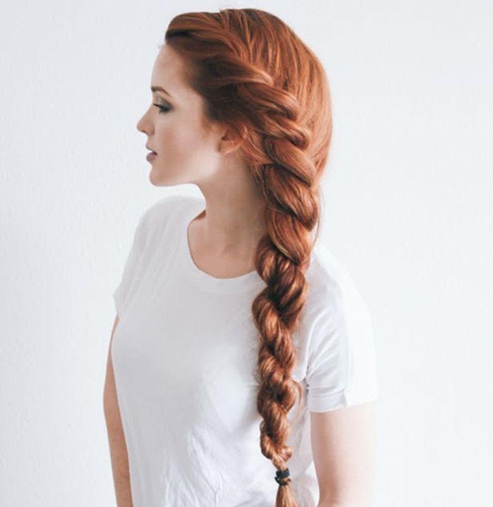 1001 tutoriels et id es comment faire une tresse soi m me coiffures coiffure cheveux. Black Bedroom Furniture Sets. Home Design Ideas