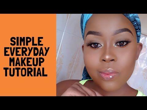 simple everyday makeup tutorial/ beginner friendly