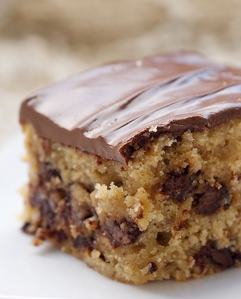 Chocolate Chip Snack Cake | Recipe | Snacks, Chocolate and Cake