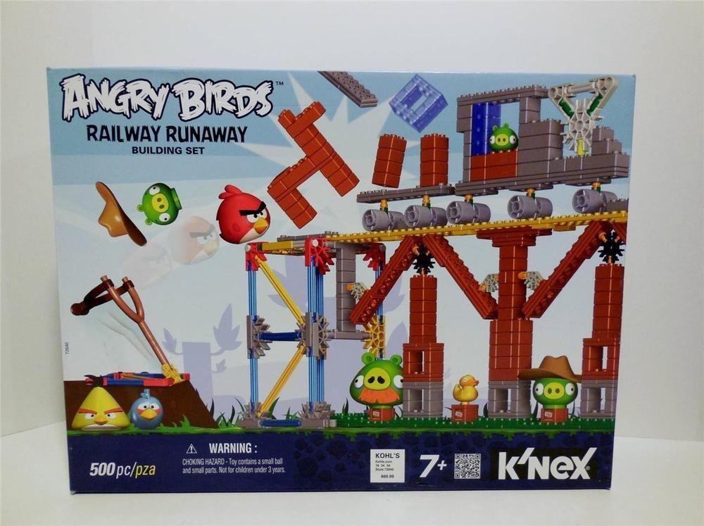 K/'NEX Angry Birds Mini Figures Building Set KING PIG ANGRY BIRDS TOYS