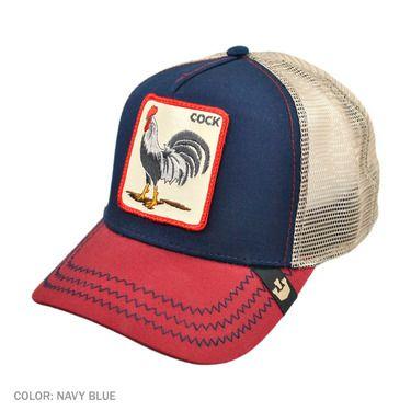 Goorin Bros USA Cock Trucker Baseball Cap w  Snapback  bc2e8d6b126