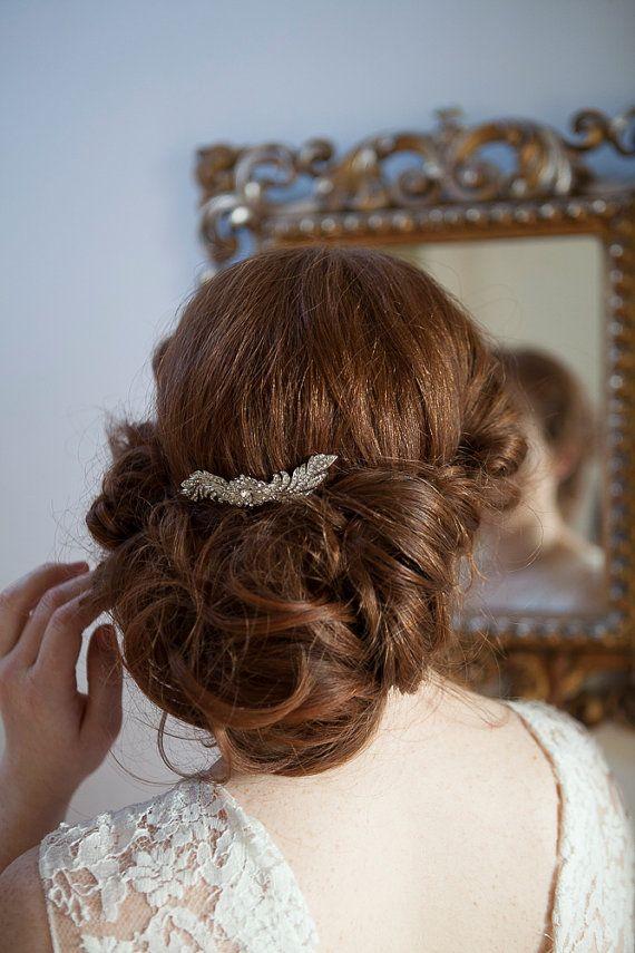 Peigne A Cheveux Style Vintage Art Deco Peigne Accessoire De Coiffure Mariage Des Annees 1930 Coiffe De Mariee Ou Les Demoiselles D Honneur Ou Soiree Art Deco Hair Crystal Hair Comb