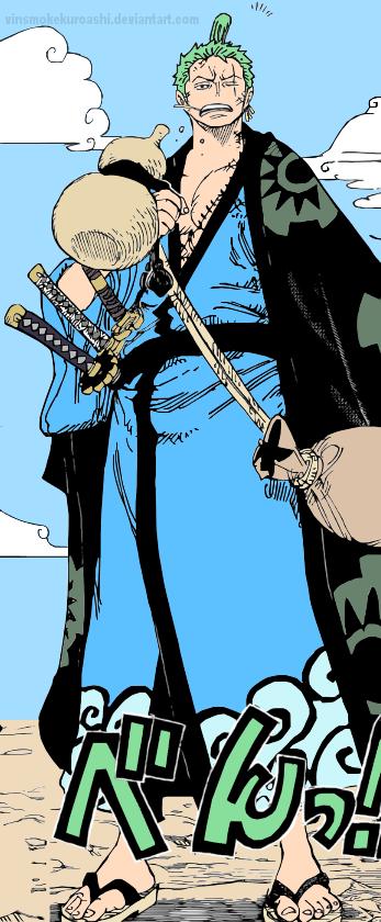Zoro Wano Kuni One Piece Manga One Piece Pieces Facts