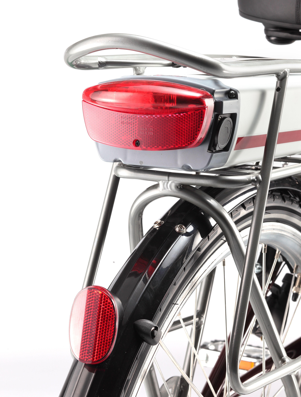 Bicicleta eléctrica Titanium luces traseras