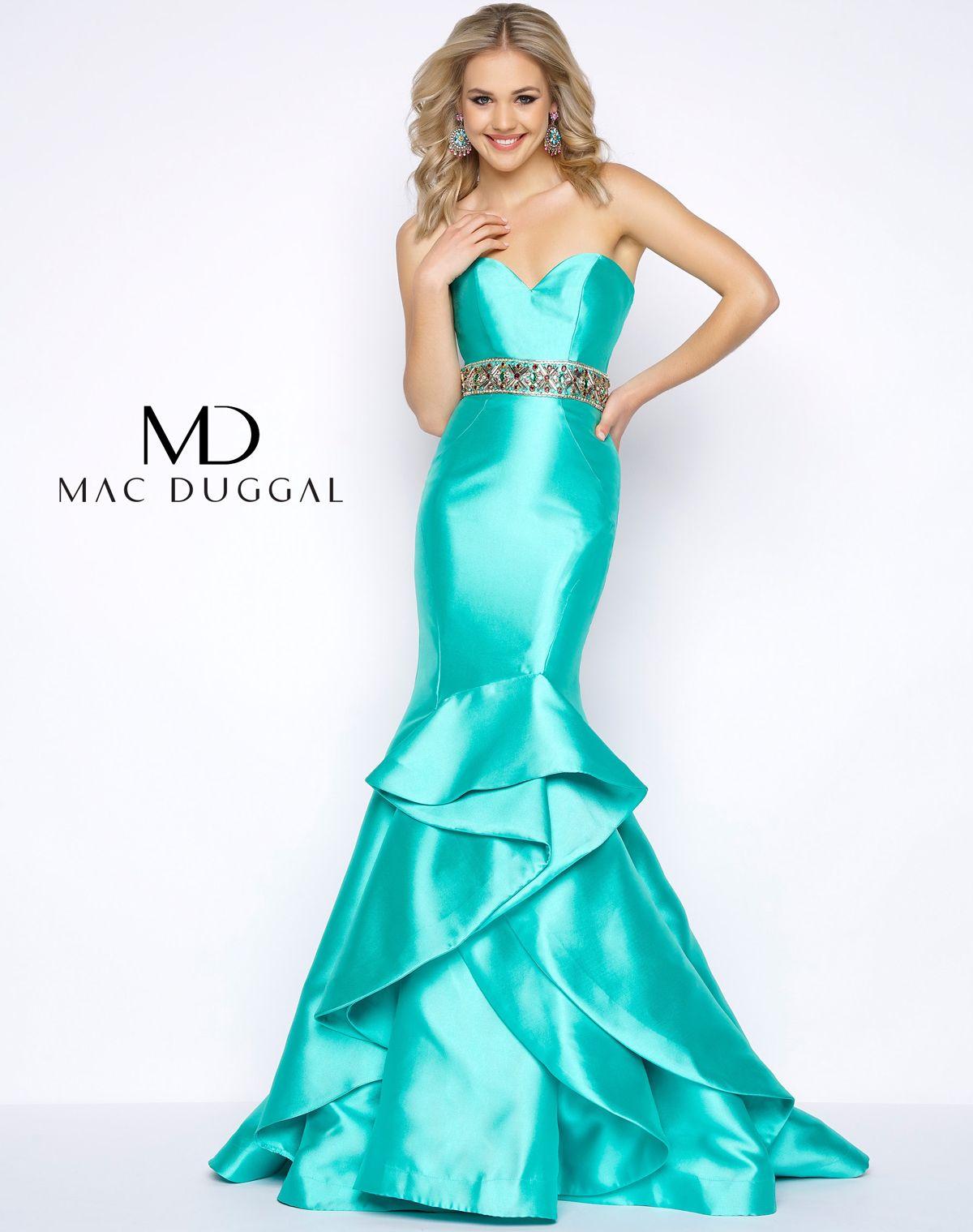 66039a Mac Duggal Prom Dresses Mermaid Prom Dresses Strapless Prom Dresses [ 1519 x 1200 Pixel ]