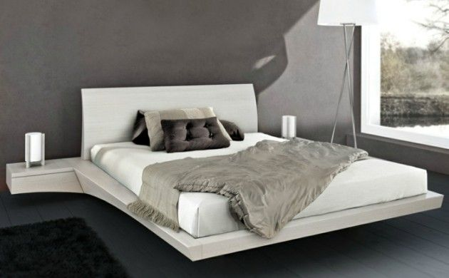 22 ausgefallene Betten Ideen für Ihr stilvolles Schlafzimmer - schlafzimmer ideen weis modern