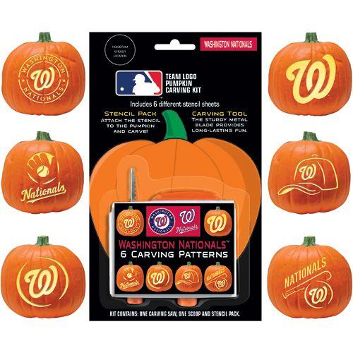washington nationals pumpkin template  Washington Nationals Pumpkin Carving Kit - MLB.com Shop