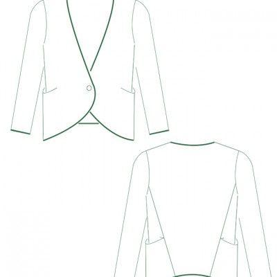 Épinglé sur a Couture femme 'top' (pdf) / Sewing for her