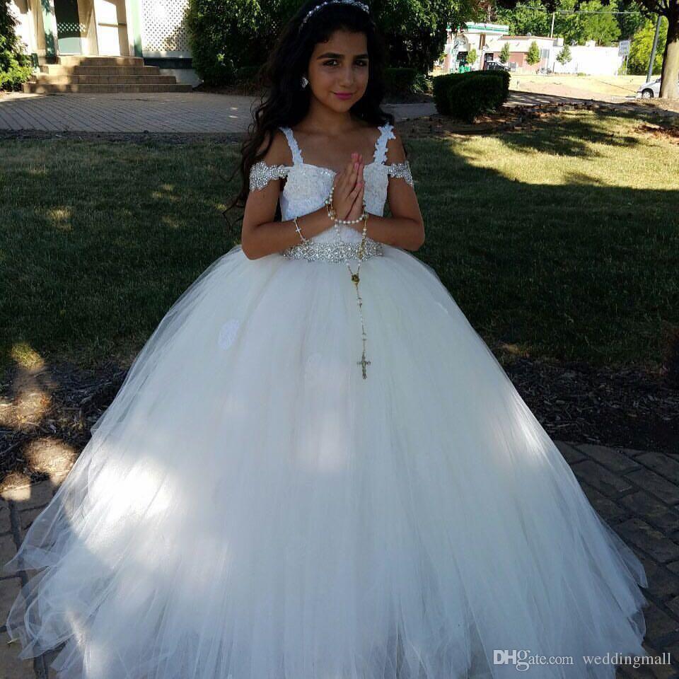 Flower girl dress,luxury flower girl dress,girls party dresses ...