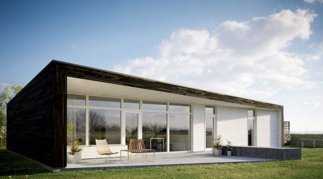 Passive solar sustainable simple efficient for Modern passive solar house plans