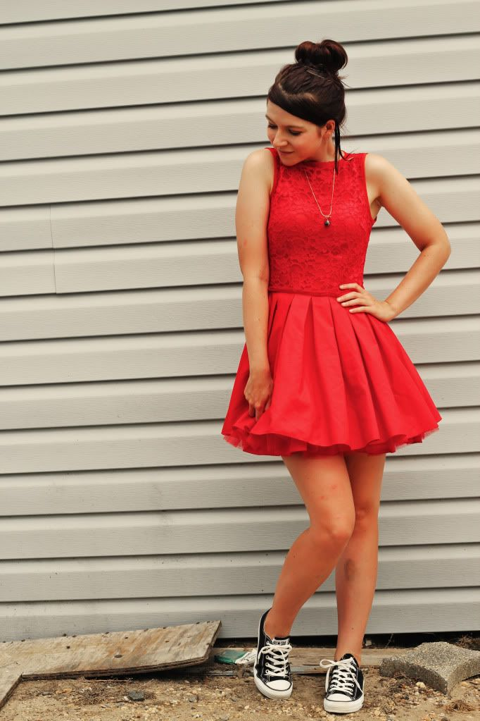 Prom Dresses with Converse Tumblr