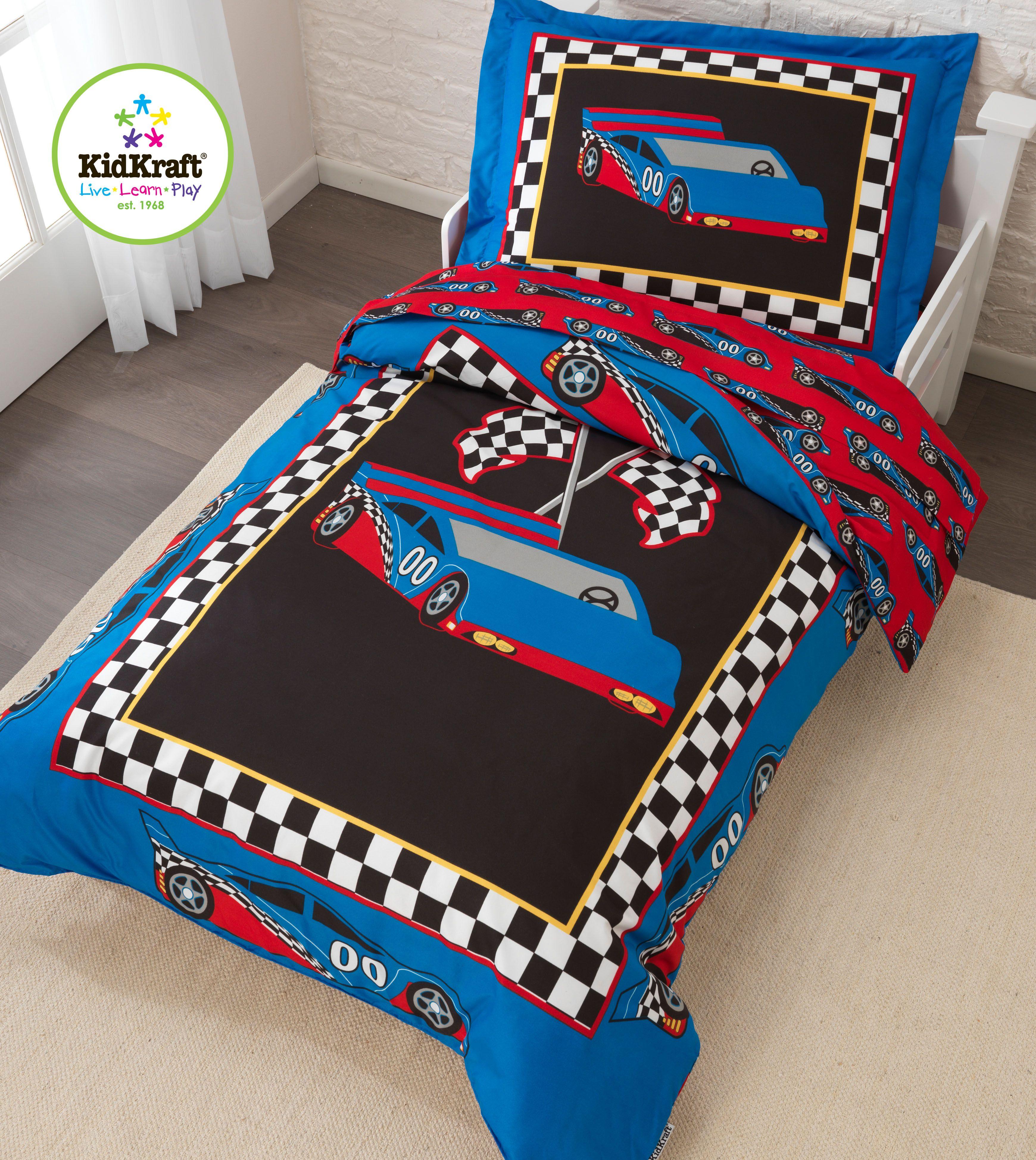 Kidkraft Race Car Toddler Bedding Set Toddler bed set