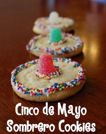 Cinco de Mayo Last Minute Ideas: Sombrero Cookies