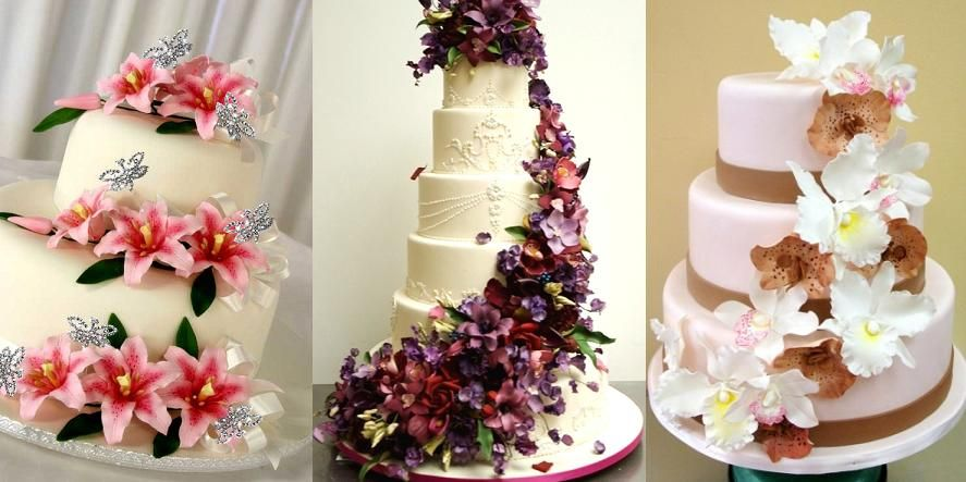 Fl Fun I Love Flowers On A Wedding Cake No Not The Hard That You Get Dairy Queen But Actual Gum Paste