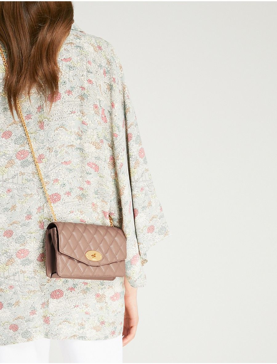 MULBERRY - Darley quilted leather cross-body bag  1585563512fb2