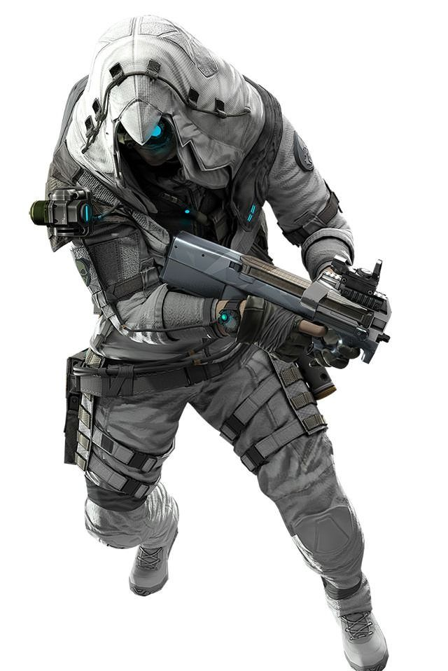 Future Assassin Future Soldier Concept Art Characters Assassin