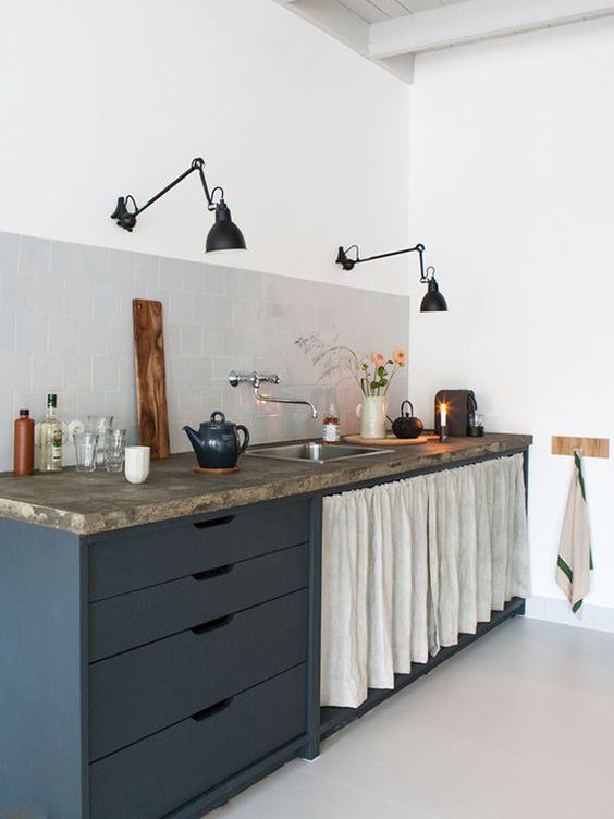 Photo of Trend Watch: swivel arm lights in the kitchen