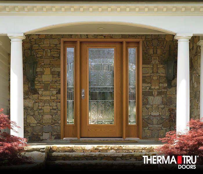 Therma Tru Fiber Classic Oak Collection Fiberglass Door With Sedona