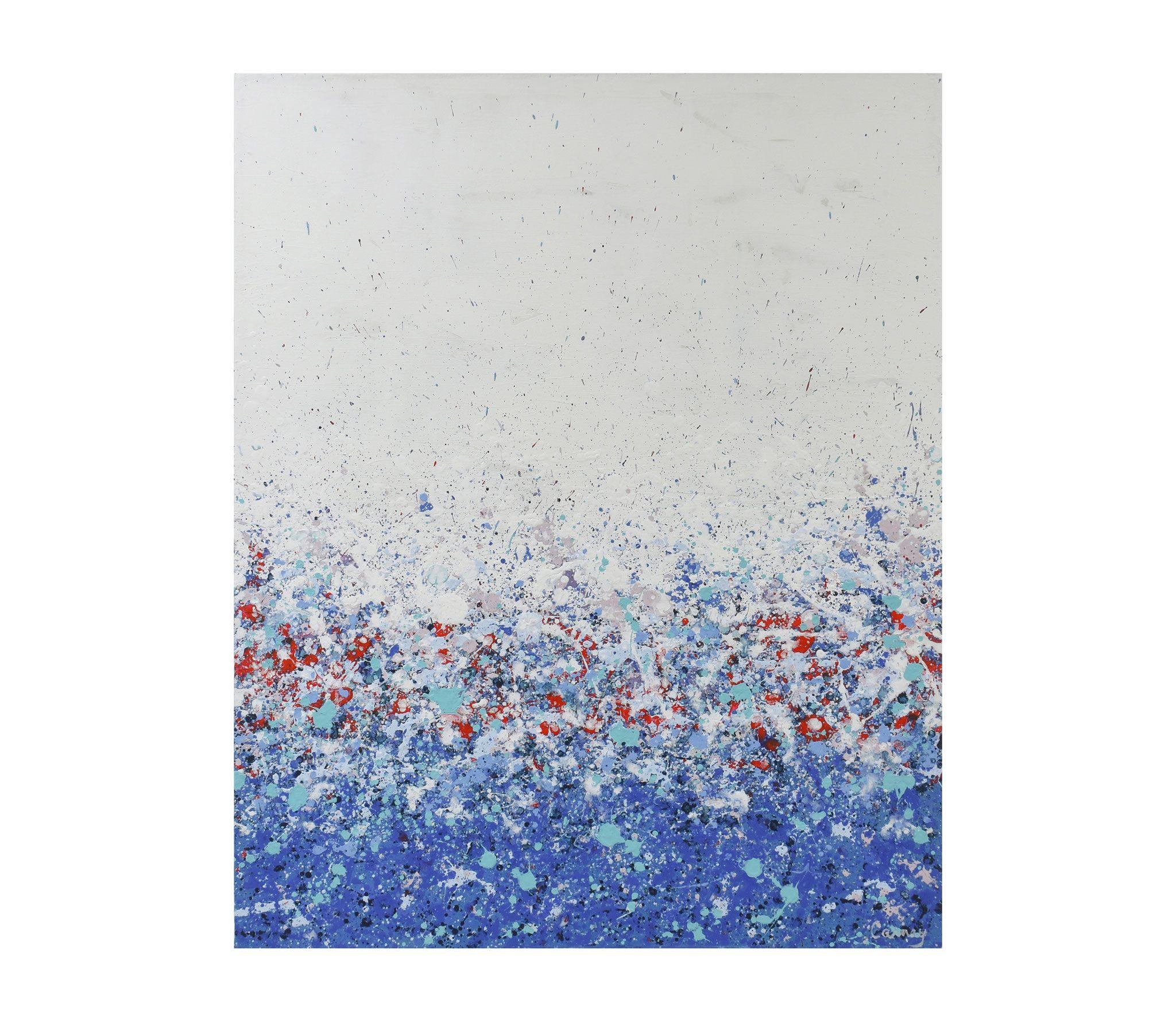 Botanical Dream | 2020 | Acrylic on Canvas | 30 x 24 x 1.5