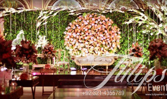 Red crystal wedding stage garden wedding wedding bells and wedding junglespirit Choice Image