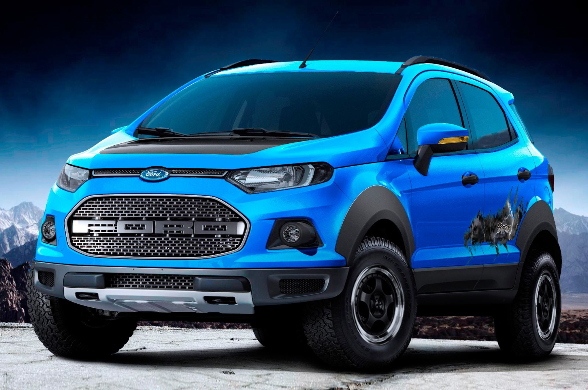 RaptorLike Ford EcoSport, Troller T4 OffRoad Debut in