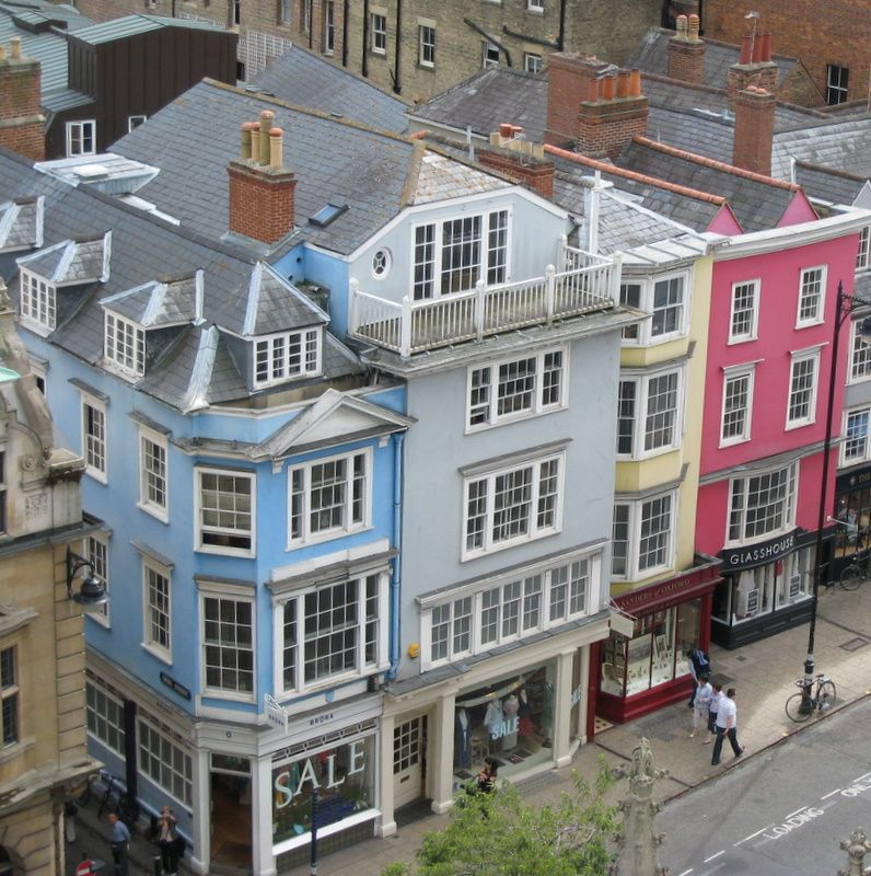 Apartment Store: Oxford Stores, And Apartment Flats Above, Oxford, England