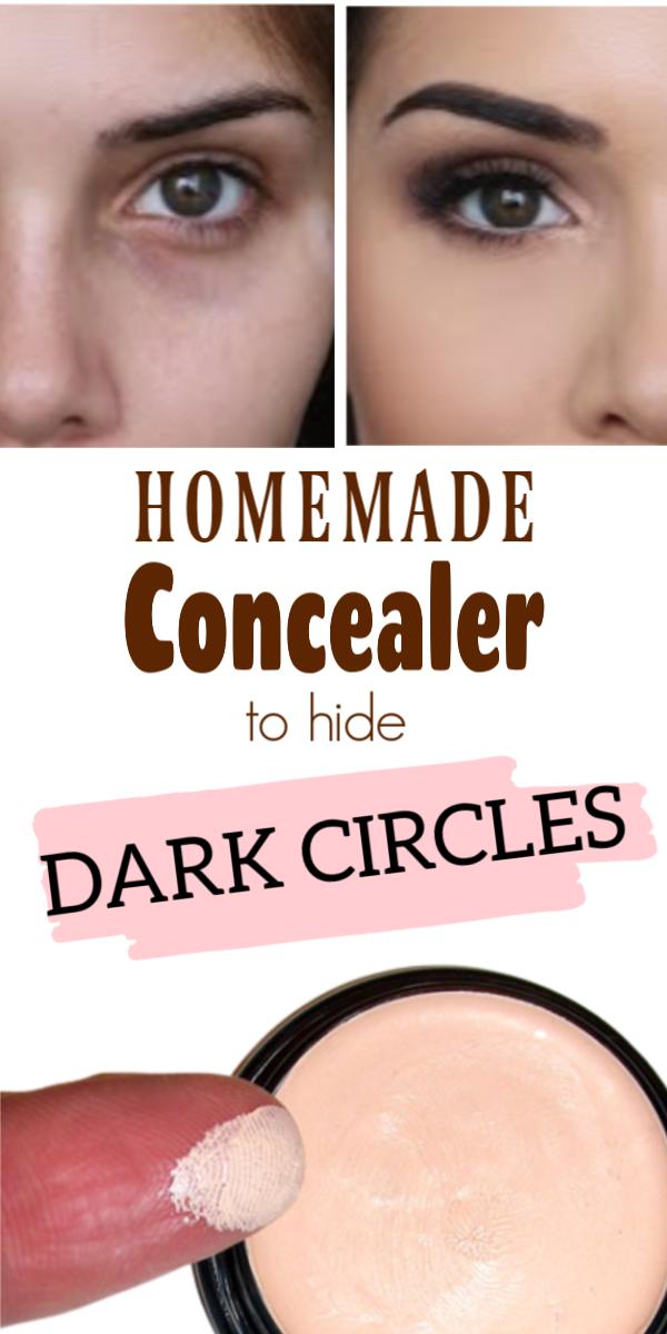 Miraculous DIY Concealers To Hide Dark Circles And Pimples! #diy #homemade #concealers #darkcircles #pimples #skincareathome #DarkCirclesUnderTheEyes #darkcircle