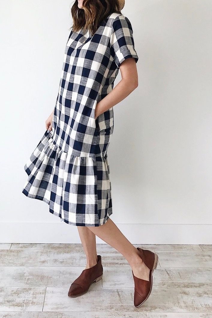 fff5a4edc65 Picnic Plaid Dress