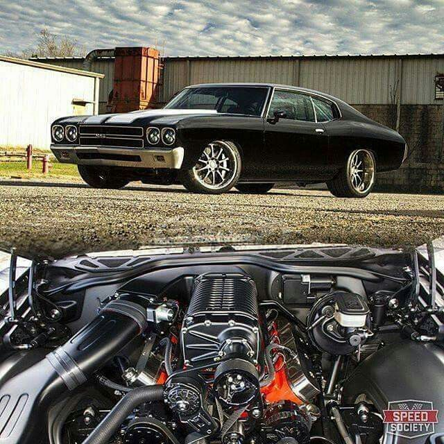 55 Best Badass Chevelles Images On Pinterest: Badass Chevelle 1,000hp Of Supercharged LSX Power!