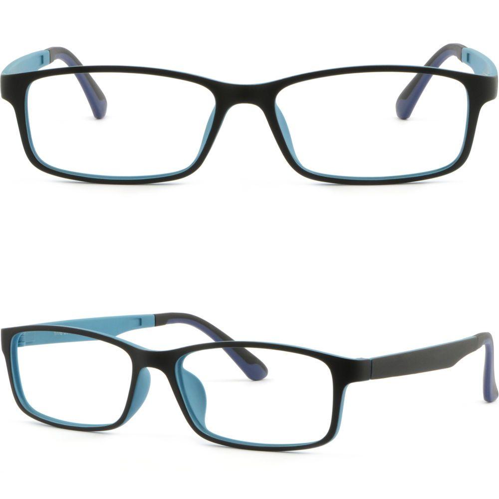Super Light TR90 Memory Plastic Frame Bendable Prescription Glasses ...